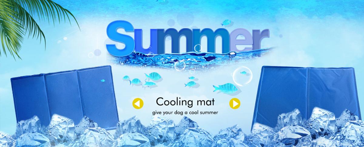 manufacturer wholesale re-usable gel sponge dog cooling mat cool gel pad