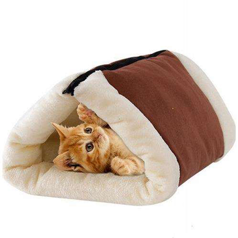 Luxury Portable soft warm cozy Cat Cave Pet Bed Cat Tunnel Bed