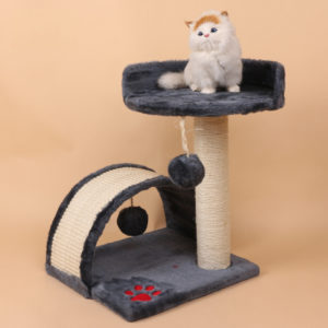 Manufacturer wholesale sisal cat tree small pet cat tree cat scratcher tree
