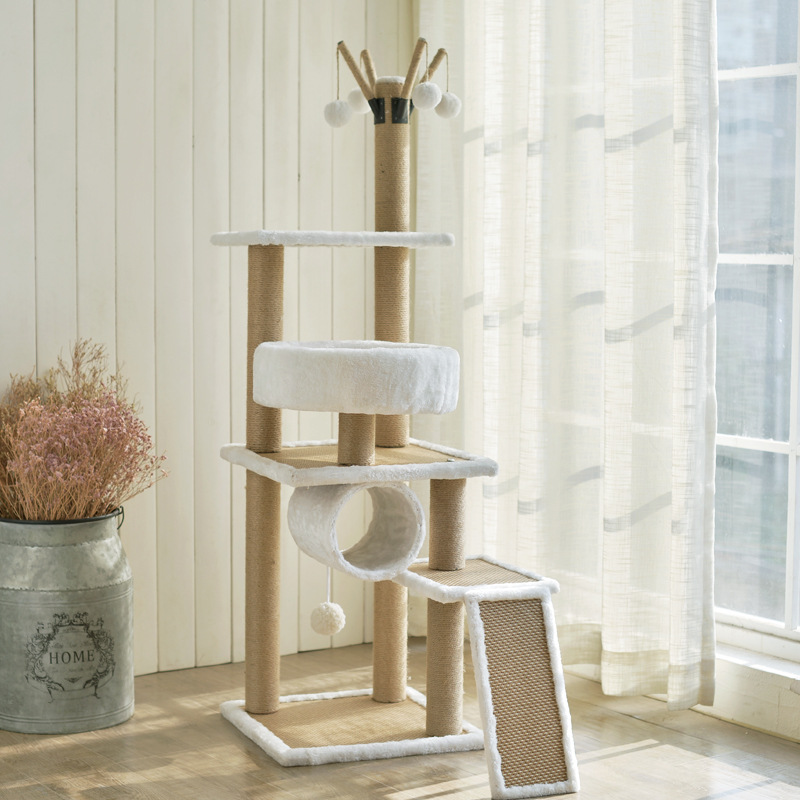 Factory supply best cat tree for large cats floor to ceiling cat tree