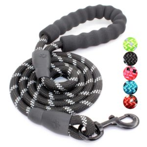 Factory wholesale Dog Leash With Comfortable Padded Handle Reflective Dog Leash
