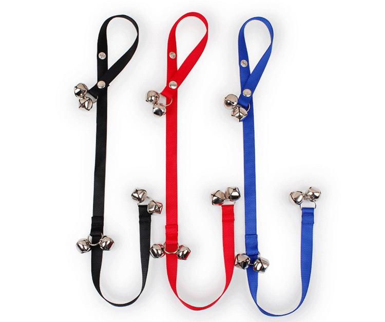 dog door bell Adjustable Door bells for Dog