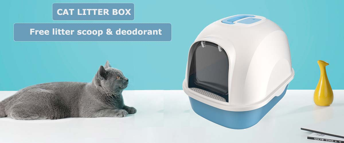 Factory wholesale cat toilet cat litter box