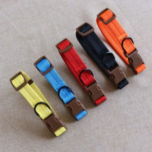 manufacturer wholesale nylon dog collar with buckle dog collar
