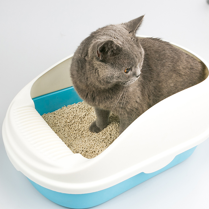 Factory wholesale large cheap cat litter box cat litter tray