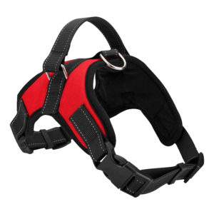 Factory wholesale nylon dog harness adjustable dog vest harness