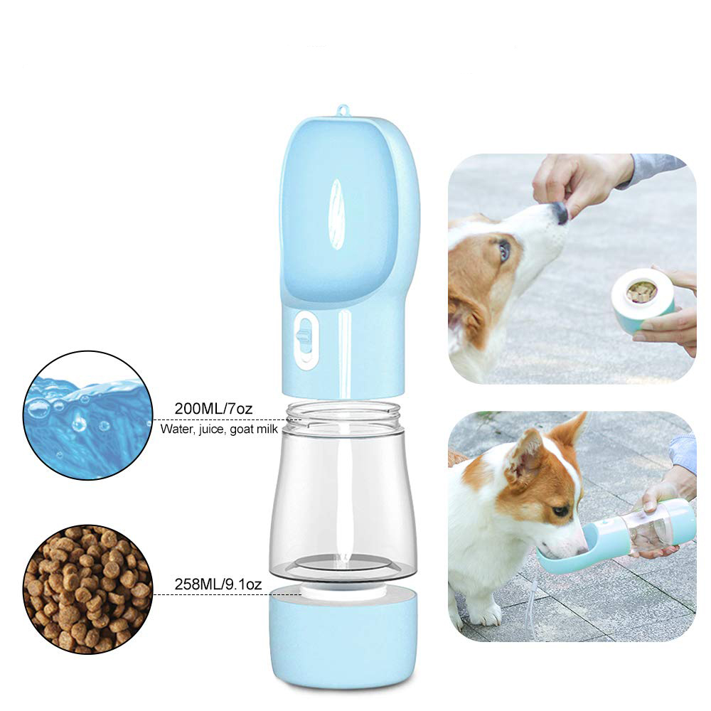 Dog water bottle for walking portable travel dog water dispenser dog travel water bottle