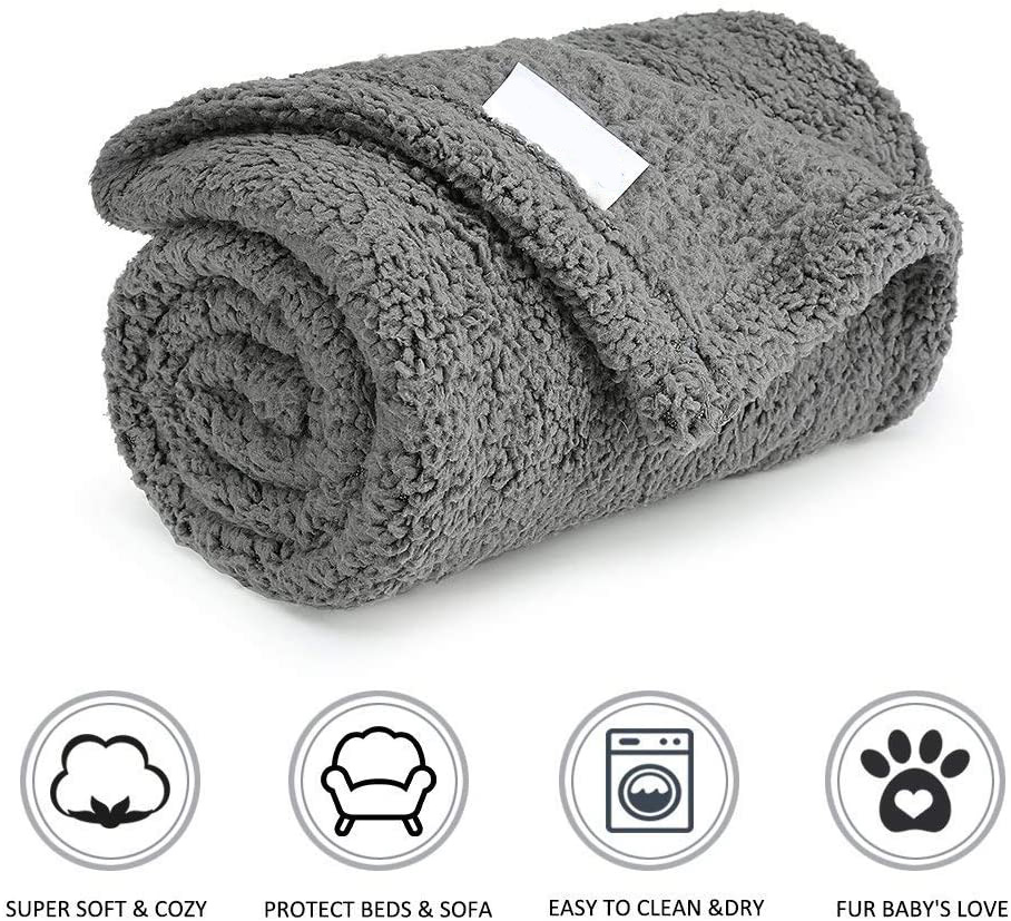 Fluffy Fleece Dog Blanket Soft Warm Pet Blanket Dogs Cats Blanket Factory