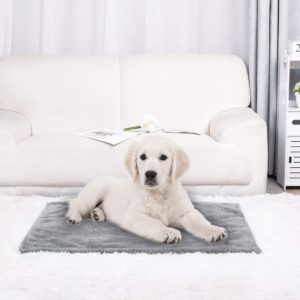 Pet Dog Soft Blanket Puppy Blanket Plush Warm Rug Blanket and Throw for Dogs Cats Sleeping Bed Mat
