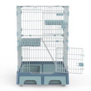 Large 3-Tier Cat Cage Playpen Cat Crate Kennel Foldable Metal Cat Playpen Factoty