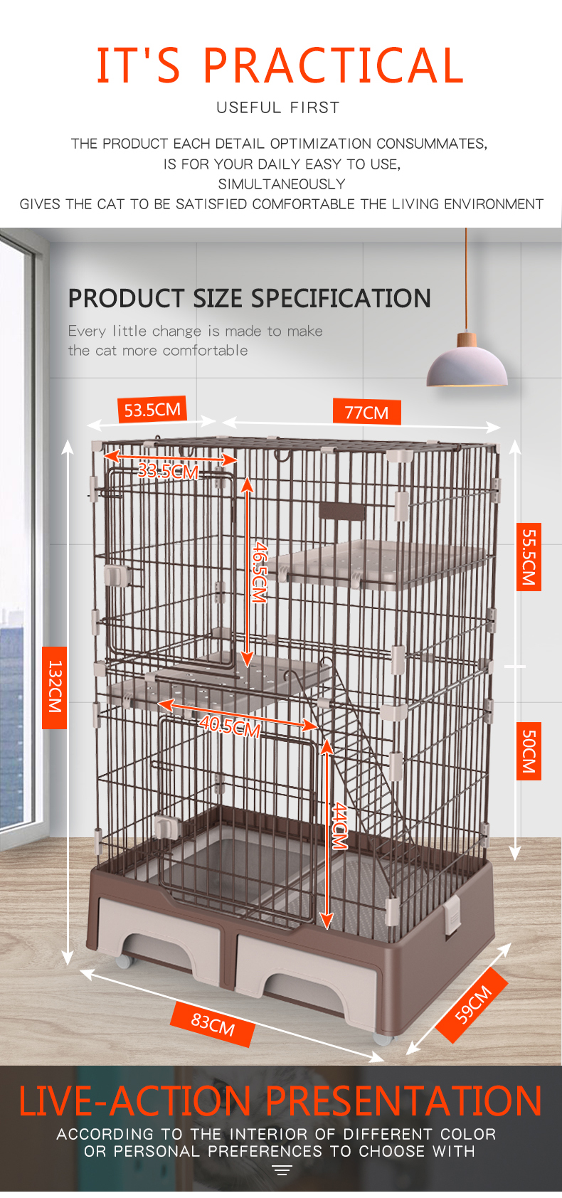 Cat Crate Kennel wholesale supplier