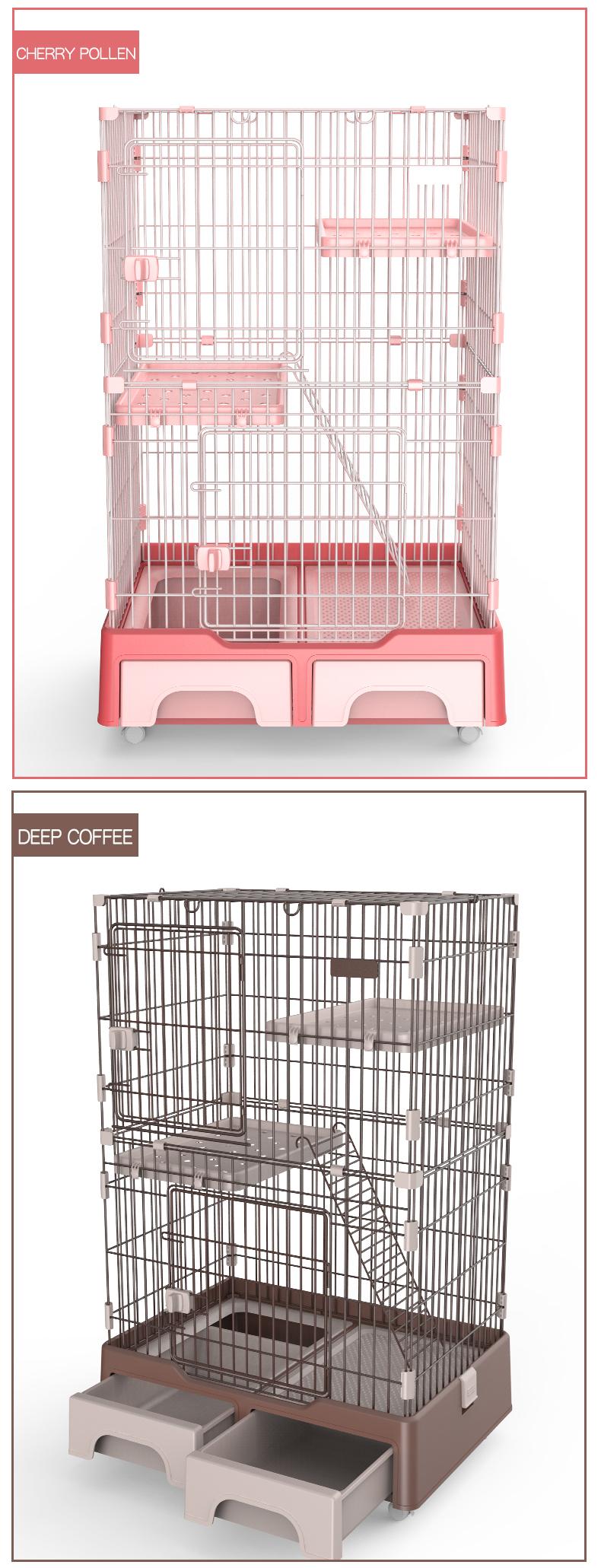 Foldable Metal Cat Playpen Factoty