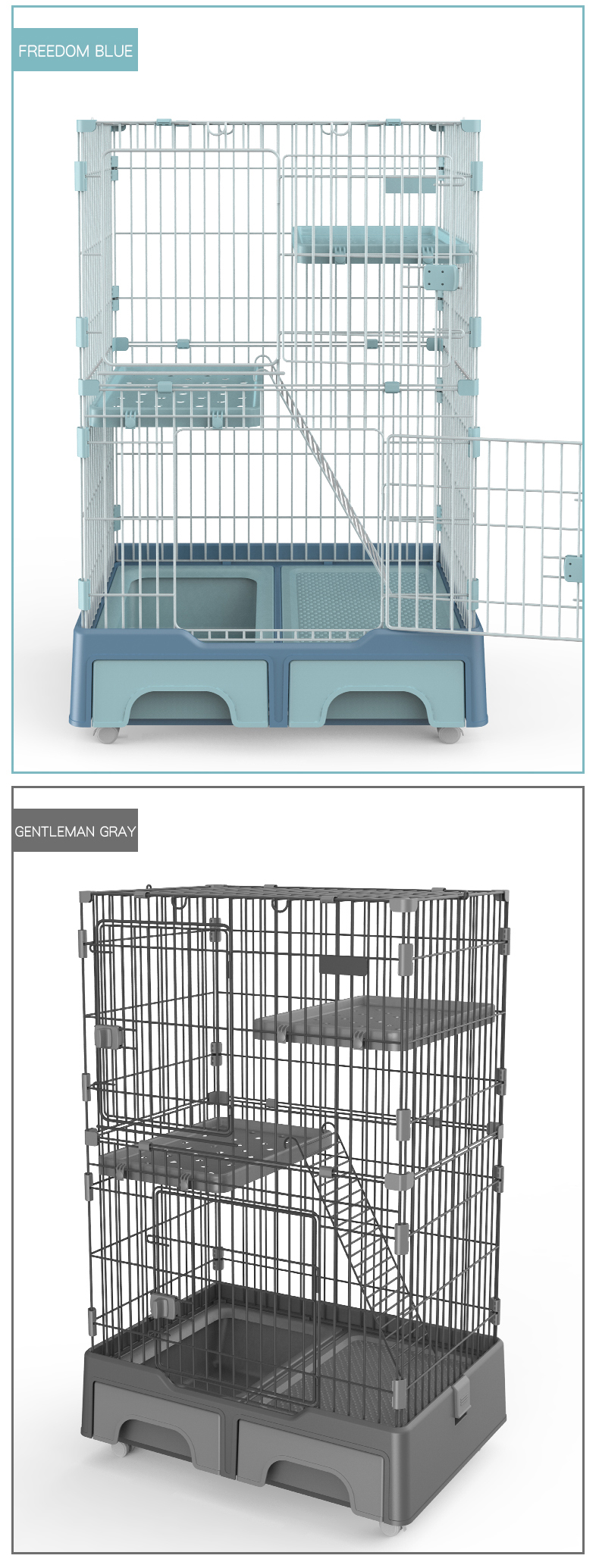 Cat Crate Kennel Metal Cat Playpen manufacturer wholesale