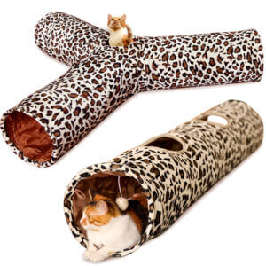 Cat play toy tube foldable cat tube cat tunnel manufacturer wholesale