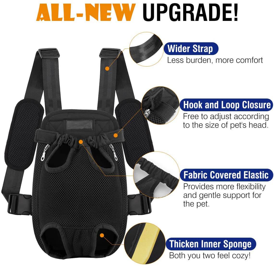 Pet Front Cat Dog Carrier Backpack Travel Bag Manufacturer
