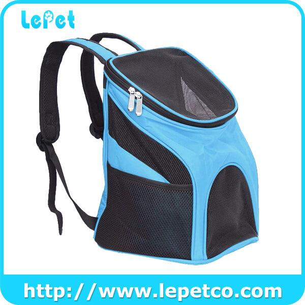 Portable Foldable Dog Carrier Backpack Breathable Shoulder Pet Carrier Bag Manufacturer