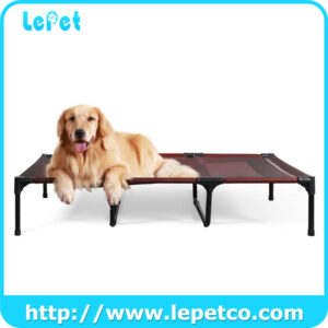 Large Elevated Dog Bed Outdoor Indoor Cooling Raised Dog Bed Waterproof Dog Cot Bed