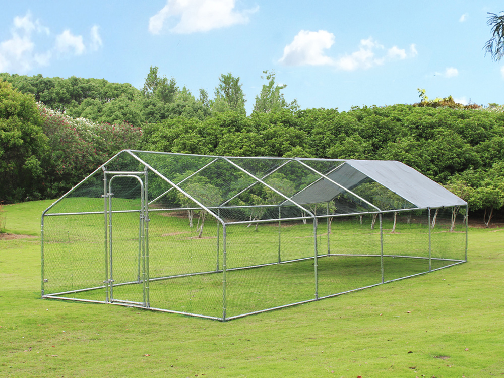 Outdoor large poultry cage