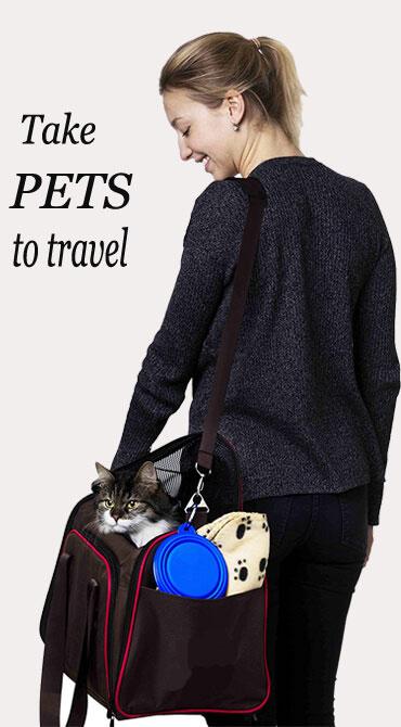 Dog Carrier Backpack Breathable Shoulder Pet Carrier Bag Manufacturer